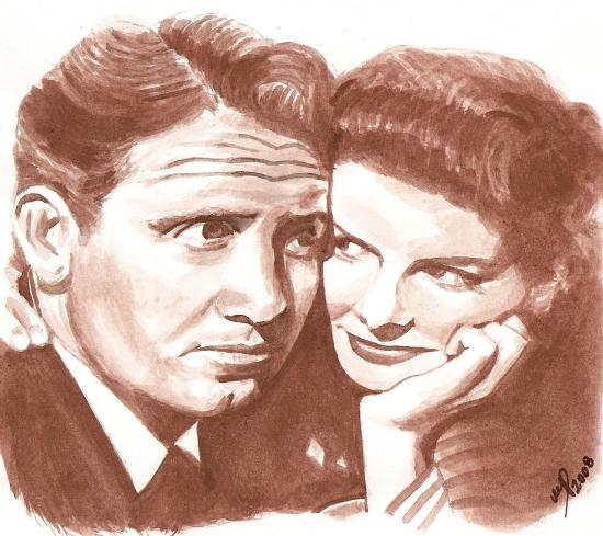 Katharine Hepburn, Spencer Tracy by Marino63